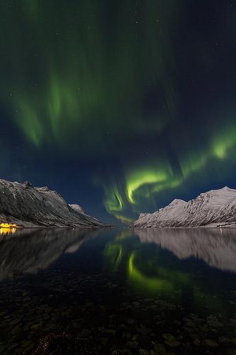 aurora borealis outdoors