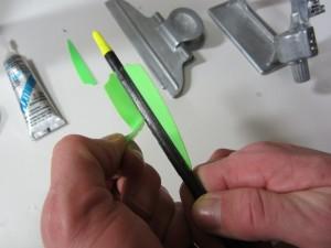how to fletch an arrow