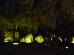 visiting Carlsbad Caverns