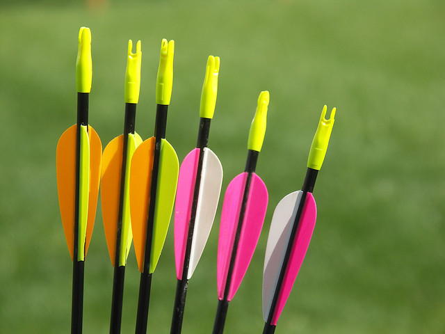 how to choose arrows for archery